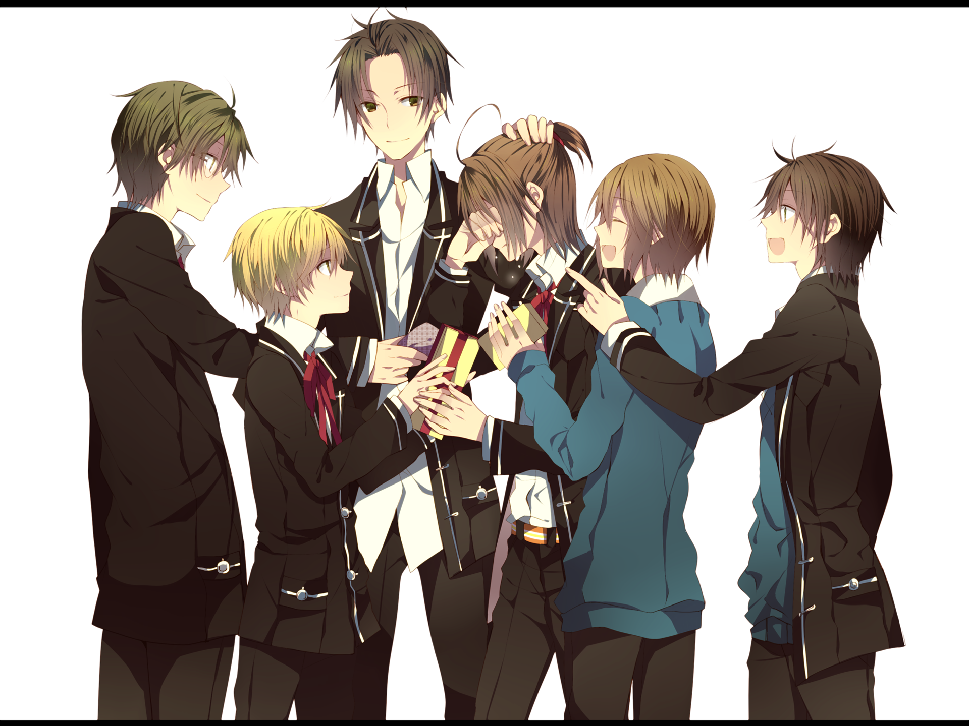 Anime Group Of Friends Boys And Girls   www.imgkid.com ...